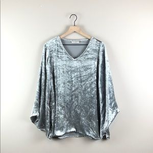 Soft Surroundings Crushed Velvet Tunic (M)